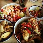 Crab Cobb Salad and other tast treats