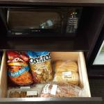 cabinet space for food storage