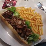 Baguette Kebab