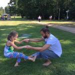 Занятия цигун в парке
