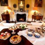 Afternoon tea served in the Drawing Room