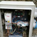 les bornes électriques des emplacements non securisé