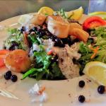The Scallop Blueberry Salad is one of my best meal! Excellent!