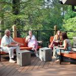 Enjoy the great outdoors from the patio of our new Event Center.