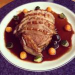 Barbary Duck in Morello Cherry Jus