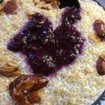Quinoa Porridge up close