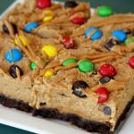 Peanut Butter Batter Chocolate Fudge Brownies