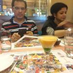 Uncle,aunty and the Tiranga Punch mocktail