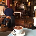 Brownie & hot chocolate