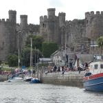 Conwy Castle from the Quay