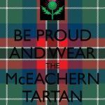 Home of the McEachern tartan