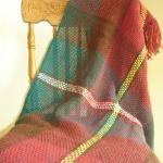 PEI tartan shawl