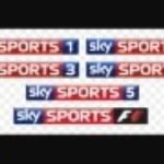 Skysports on four televisions