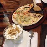 Pizza y Suspiro limeño