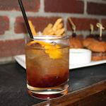 Whiskey and Coke Cocktail