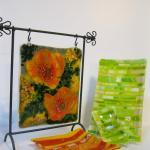 Artisan created glass works
