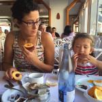 Déjeuner au restaurant de l'hôtel