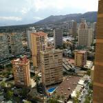 View from top floor!
