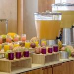 Artisan juices using local ingredients.