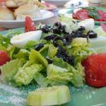 Nico's pizza salad