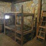 Rope Bunk Bed in Pony Express Barn