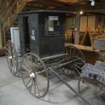 US Mail Service wagon
