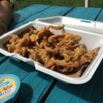 An order of fried clams. So good!