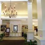 Lobby of the hotel.