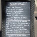 Le Concept lunchtime menu