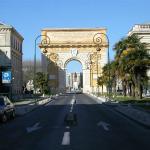 Arc du Triomphe near hotel du Palais