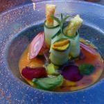 Gazpacho and tartare of tuna
