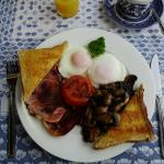 Fantastic cooked breakfast, also on offer were cereals, toast, fruits, yoghurt etc.