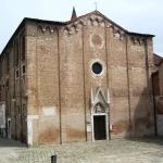 Original gothic facade of Sant' Alvise