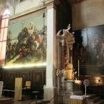 Paintings by G.B. Tiepolo in Sant'Alvise
