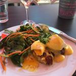 Crab Cake Eggs Benedict at Communion