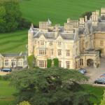 Dumbleton Hall - aerial view