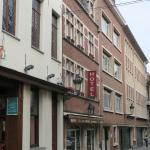 La façade vue du Manneken Pis