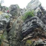 Climbing - two different routes