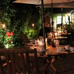 Dining in the Terrace on a summer's Evening