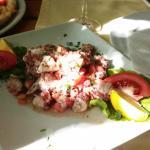 Салат из осьминога (хоботницы)