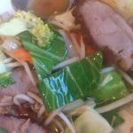 Our dishes; Bangkok Duck and Beef Phad Thai