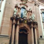 Detalhe da porta de entrada