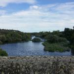 Río Tormes a su paso por el Balneario de Ledesma