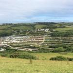 Views of the park from the gert big hill opposite. Well worth the climb despite what Lynne on re