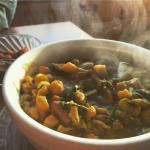 """The three been """"gwarcha"""" soup is the perfect way to warm up on a cold day."""