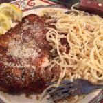 Lemon Chicken and Greek Spaghetti