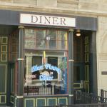 Exterior view of diner