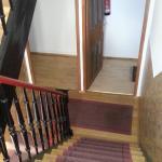 stair from st floor to 2nd floor (top floor) - 1st floor 2 blocks visible