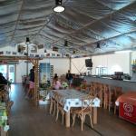 la salle à manger: vue intérieure