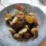 Plat Osso buco carottes et olives noires